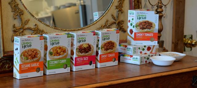 dinnero hero full line revolution foods
