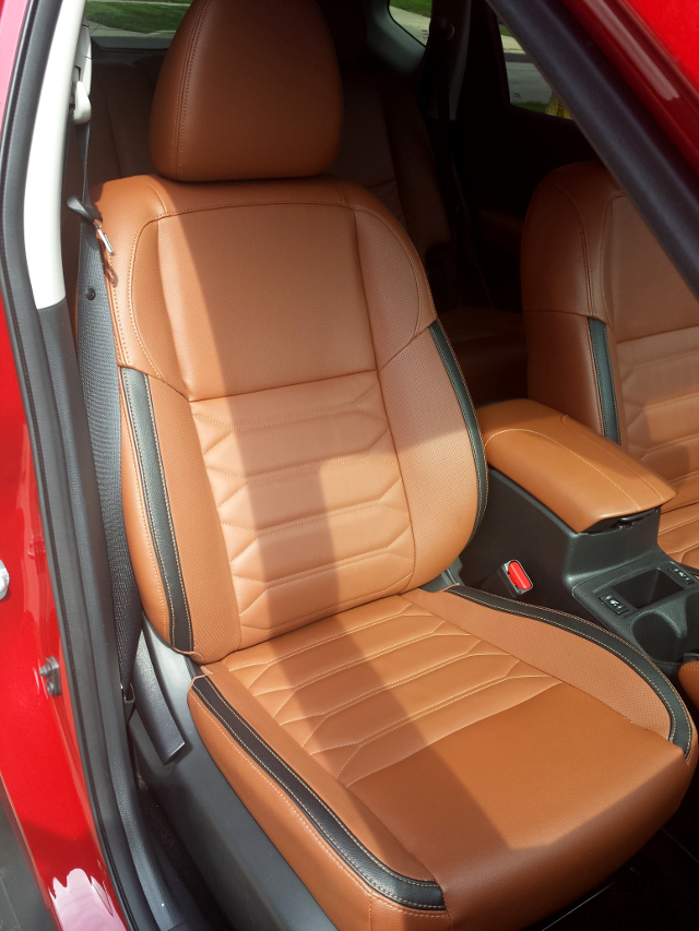 ruby rogue interior seat