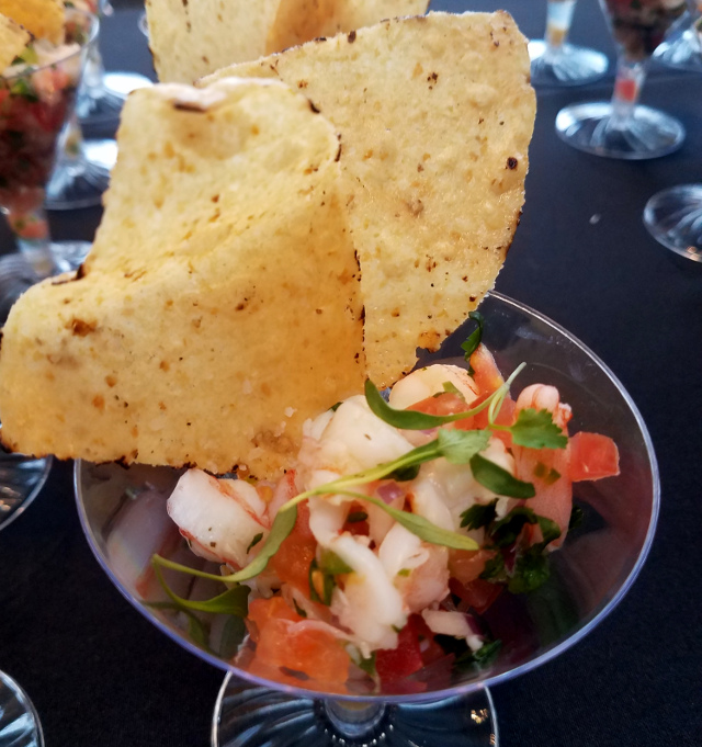 first look for charity ceviche