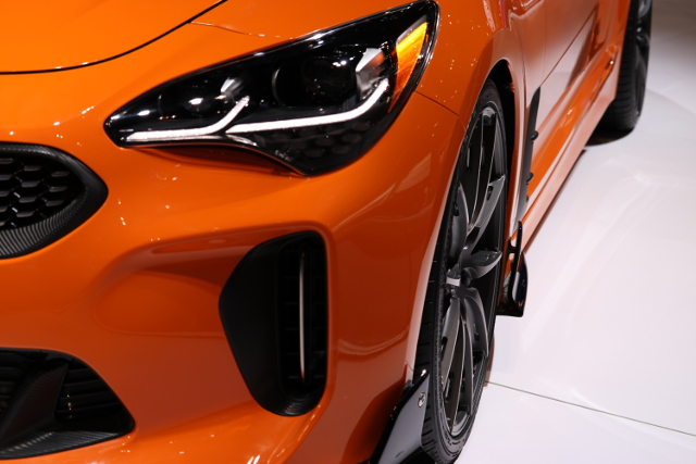 Kia Stinger Photo courtesy of Tom Smith