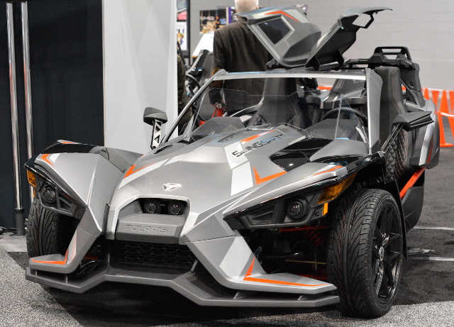 chicago auto show slingshot