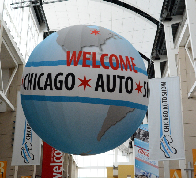 steel chicago auto show globe