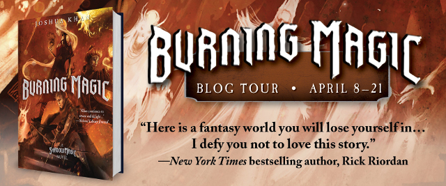 Burning Magic Blog Tour Banner 1