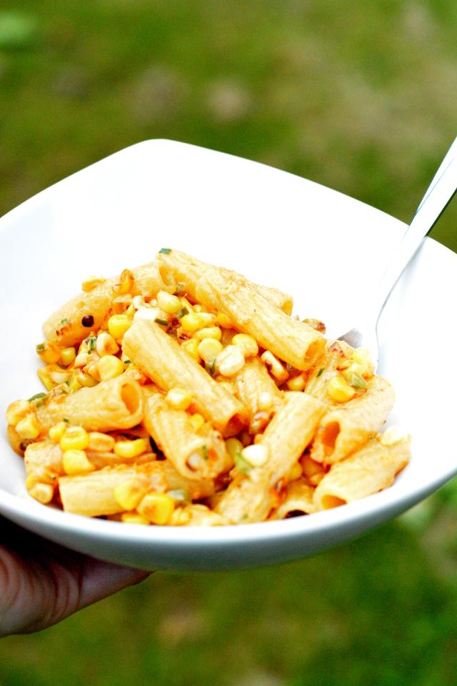 elotes pasta fresh for summer