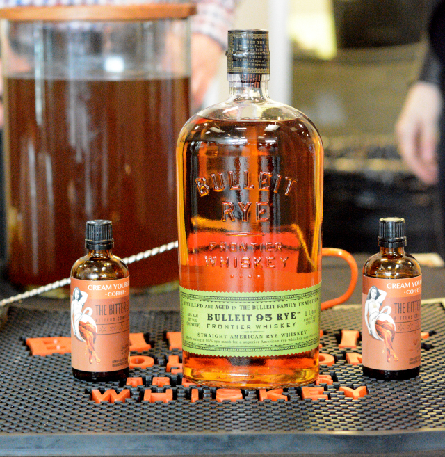 bulleit rye first look for charity