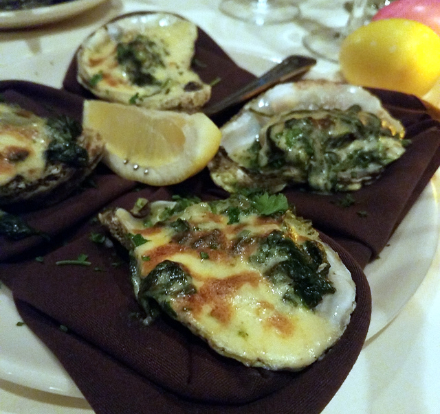Palm Court Oysters Rockefeller