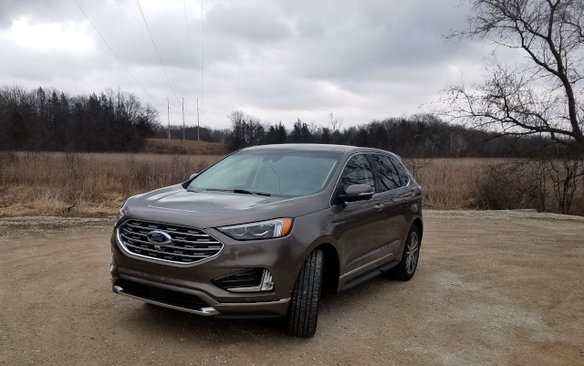 Ford 2019 Titanium Edge Into the woods
