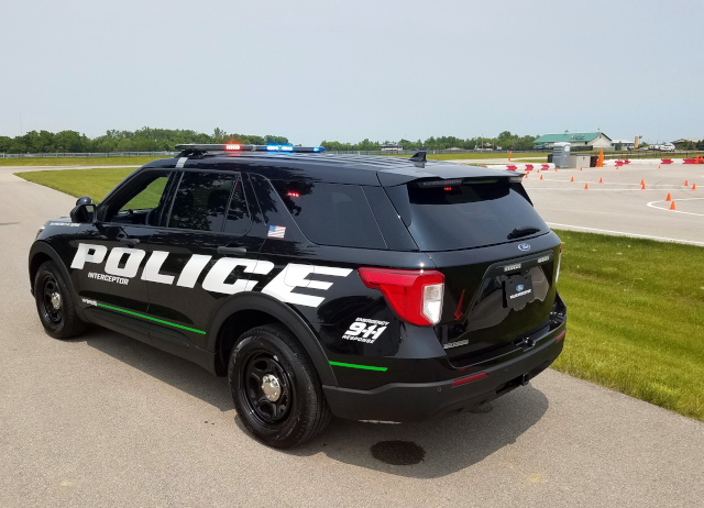 Ford Police Interceptor 2020 driver side