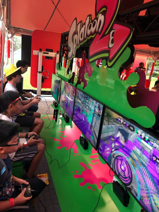 nintendo switch tour splatoon 2